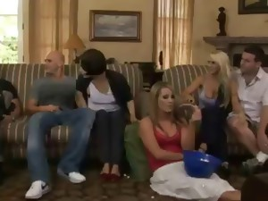 Drinking sex video. Drunk guy fucked girl after drinking. Group suck during Drinking.