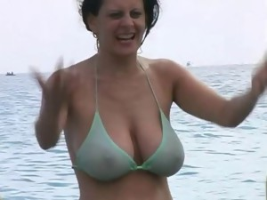 Beach voyeur sex videos. Nude girls on a beach. Beach sex movies, topless girls on the beach.